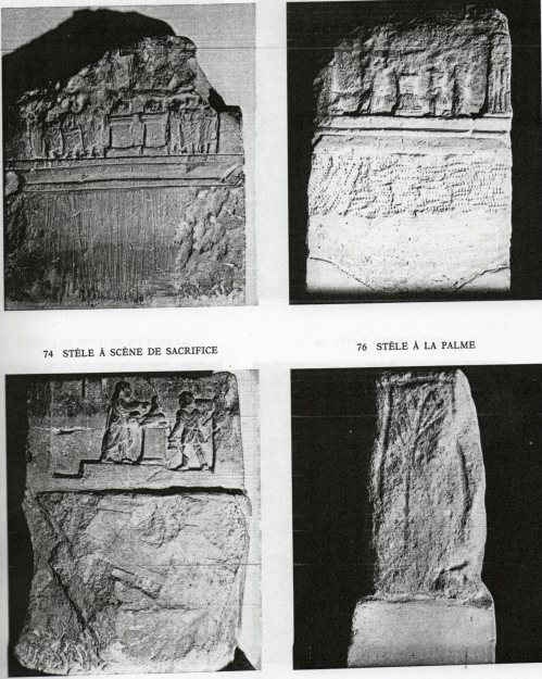 Esempi di stele hadrumentine